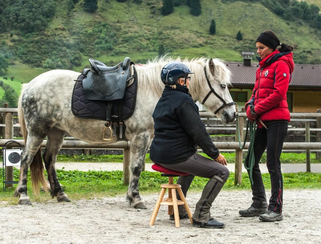 Pferdetraining bedeutet immer Training an sich selbst....