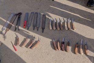 Messer Messer Messer - mit frisch geschliffenen Messern macht die Bearbeitung richtig Spaß!