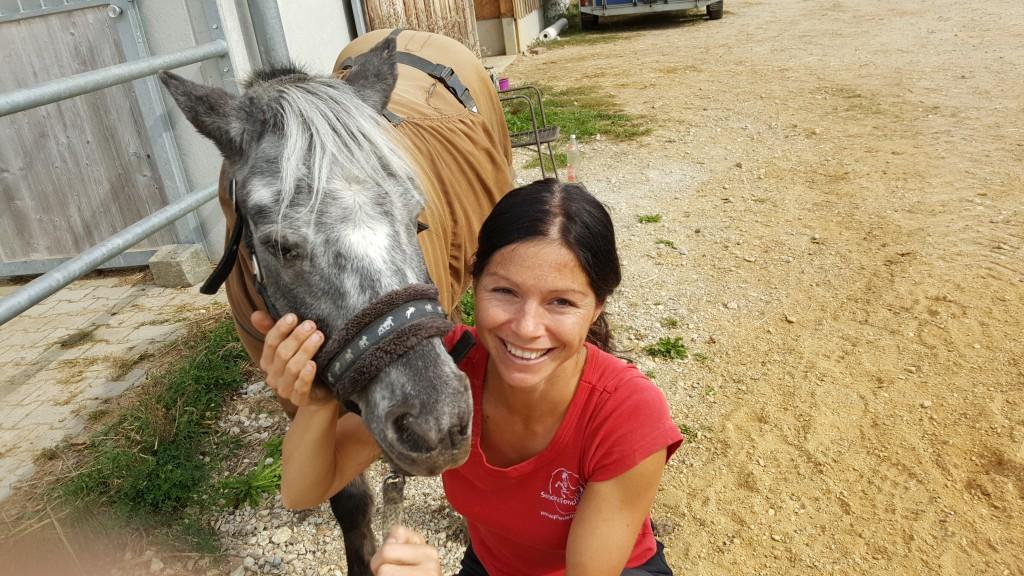 Pferde verzeihen uns alles, wenn wir ihnen mit Respekt und Liebe begegnen.