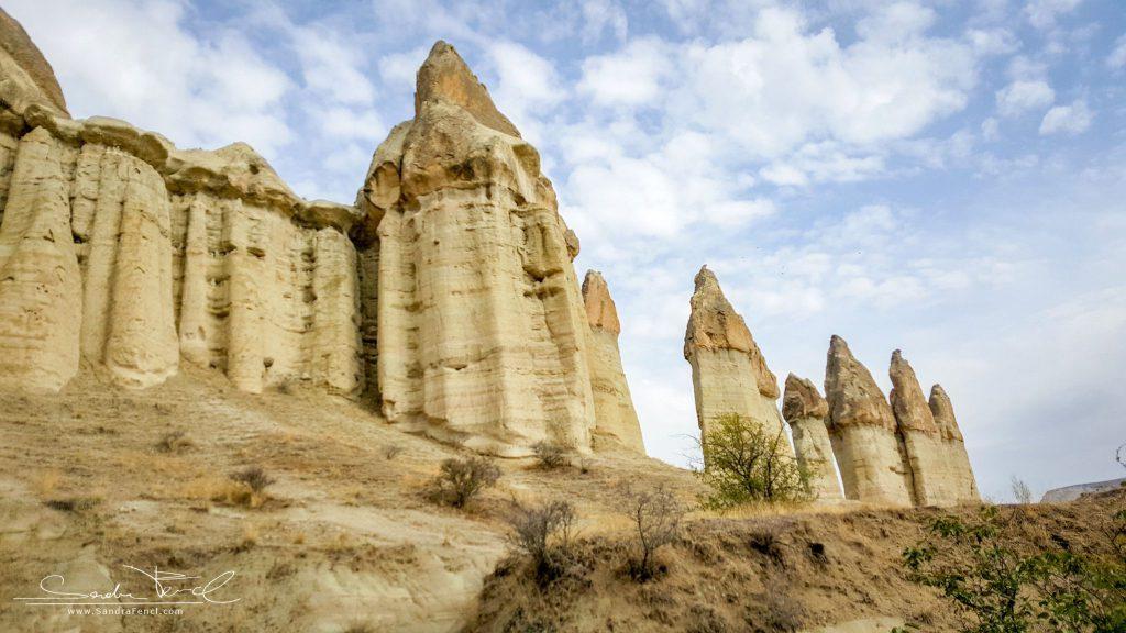 Die faszinierende Landschaft von Kappadokien ist als Weltkulturerbe gelistet.