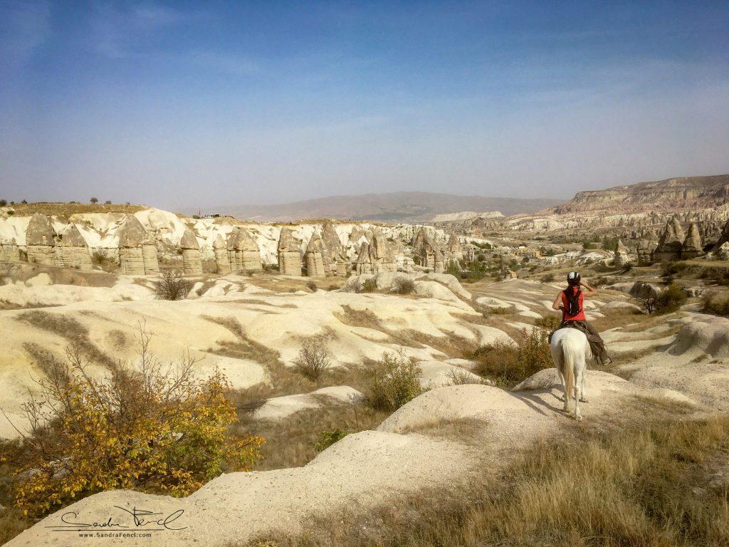Jeden Tag eine neue, atemberaubend schöne Landschaft zu Pferd erkunden - für mich ein TRAUM!