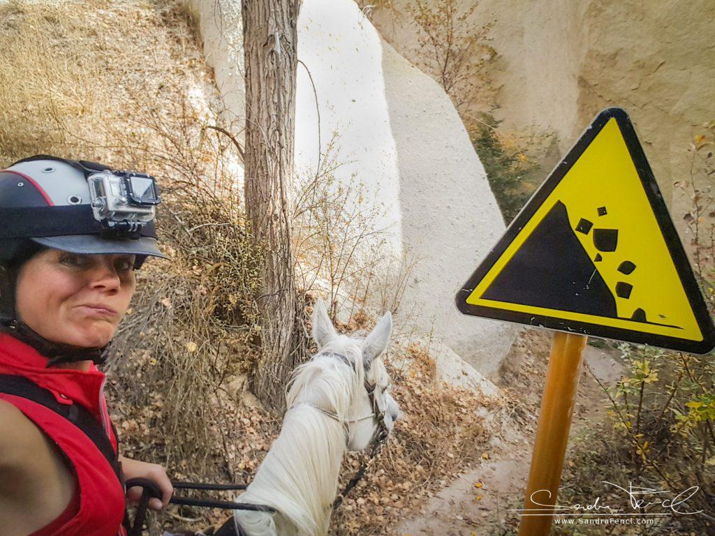 Nichts für schwache Nerven! Der Kapadokya Trail Ride ist etwas für erfahrene, sportliche und schwindelfreie Reiter!