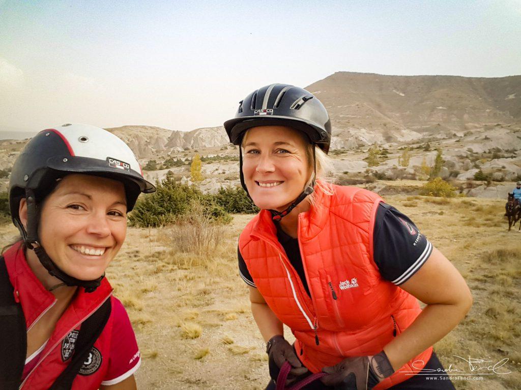 Rundum glücklich und bestens versorgt - der Kapadokya Ranch Trail Ride hat uns super gefallen!