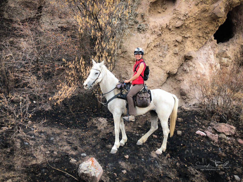 Kappadokien Trail Ride Sandra Fencl smile web