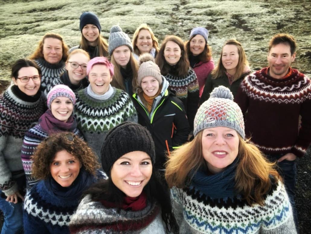 Islandreise mit Sandra Fencl und Eva Frischling