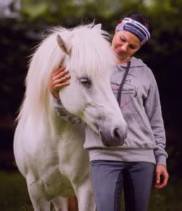 Bodenarbeit fördert die Motivation des Pferdes