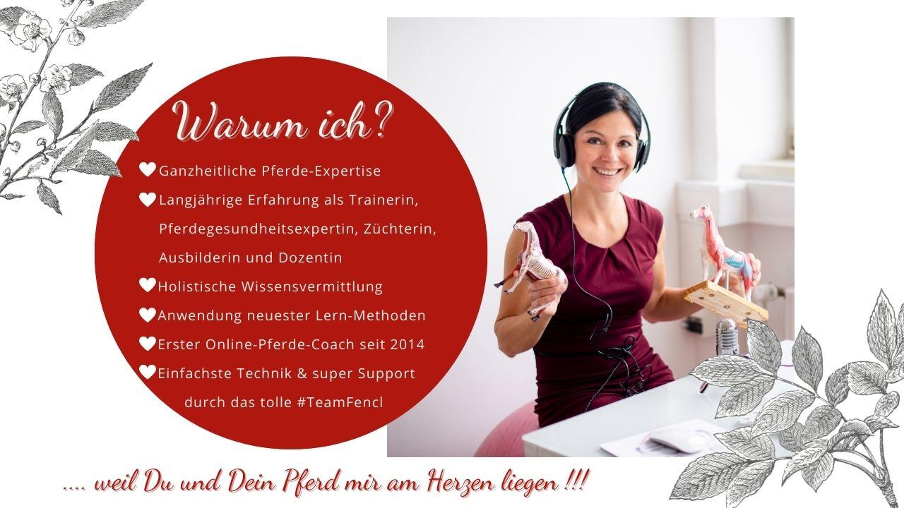 Sandra Fencl Online-Coach für Pferde und OnlinePferdeausbildung
