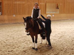 Alexandertechnik für Reiter hilft den Reitersitz zu verbessern