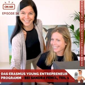 Podcast-Episode 34: Das Erasmus Young Entrepreneur-Programm bei Sandra Fencl